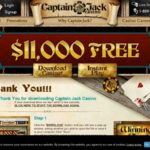 Captain Jack Casino 최고의 보너스