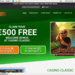 Casinoclassic Bonus Uk