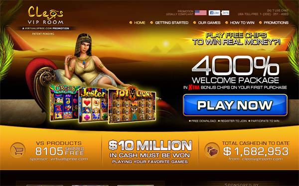Cleos VIP Room Gambling Offers