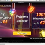 Energy Casino Bonus Code 2017
