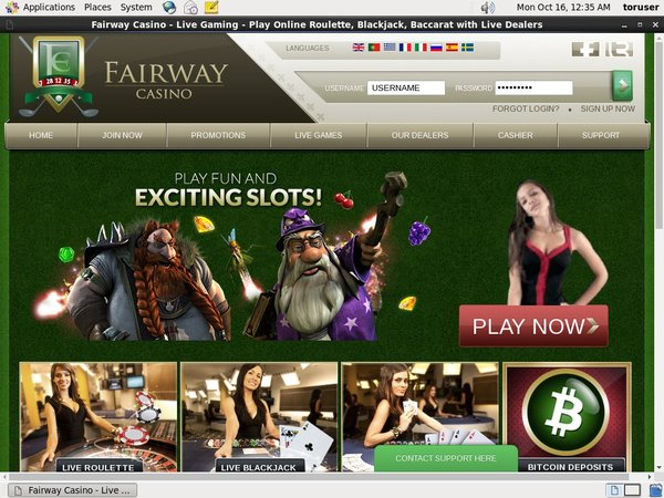 Fairway Casino Bonus Code 2017