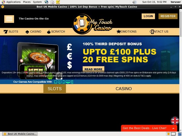 Get My My Touch Casino Bonus?