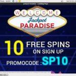 Jackpot Paradise Login