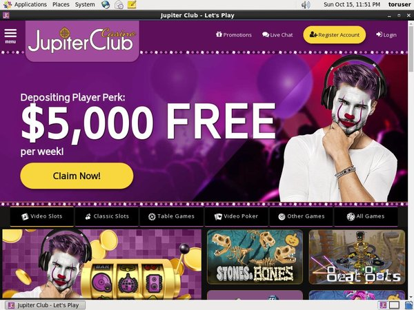 Jupiterclub Free Casino Games