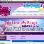 Lovemybingo Freerolls
