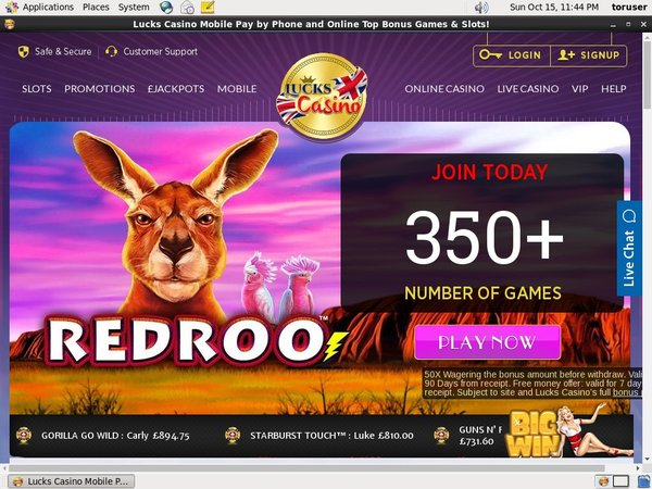 Lucks Casino Best Online Slots