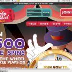 Lucky Wheel Bingo Join Deal