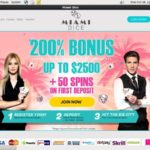Miamidice Sign Up Bonus