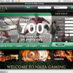 Naija Gaming Sign Up Bonus