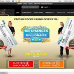 New Captaincookscasino Promotions