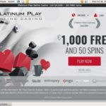 Platinum Play Joining Deals