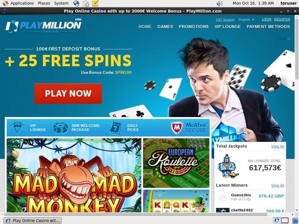Play Million Free Bets