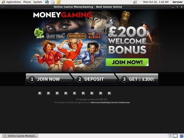 Play Slots Moneygaming
