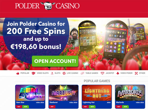 Poldercasino Joining Offers