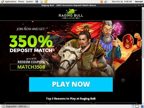 Ragingbull Online Casino Games
