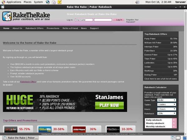 Rake The Rake Dot Pay