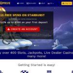 Spin Prive Casino Membership