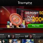 Triomphe Casino Sports Bonus