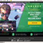 Unibet Poker 保証金