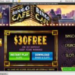 Bingo Cafe Join Free Bet
