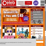 Celebbingo Maximum Deposit