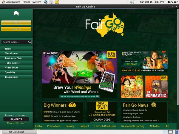 How To Use Fair Go Casino
