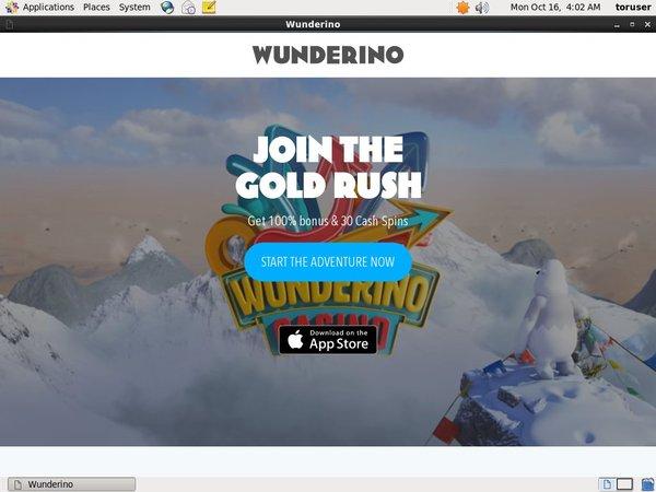 Wunderino No Credit Card