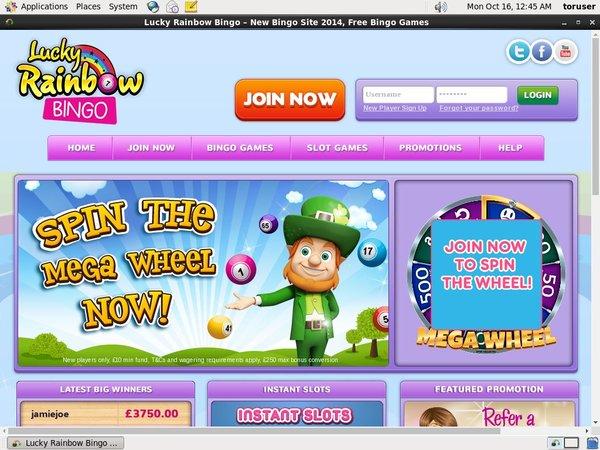 Lucky Rainbow Bingo High Limits