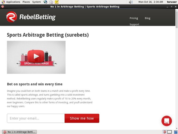 Rebelbetting Number
