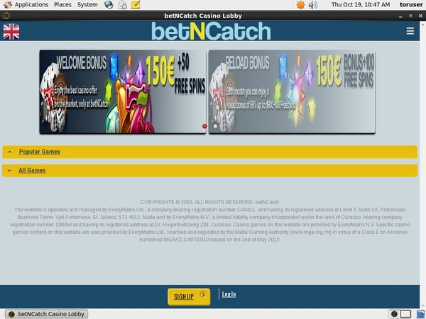 Bet N Catch Live