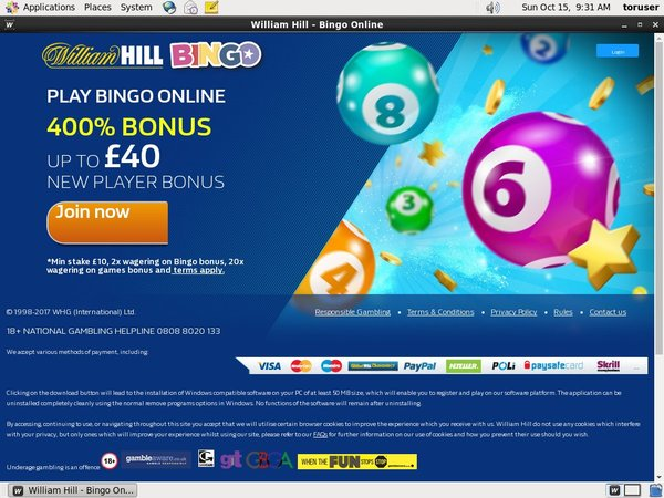 Williamhill Internet Casino