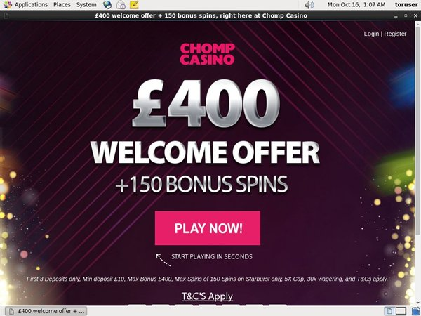 Free Spins Chompcasino