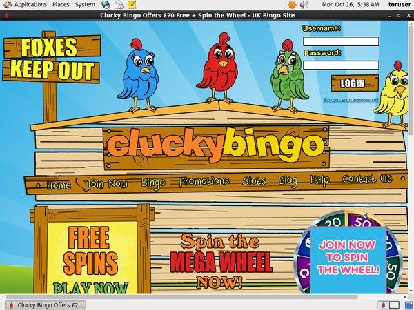 Clucky Bingo App