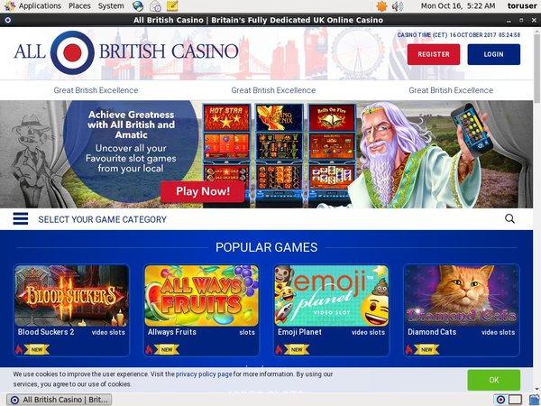 All British Casino Trustly
