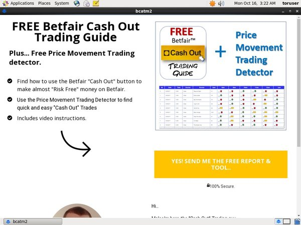 Betfair Cash Out Enter Cash