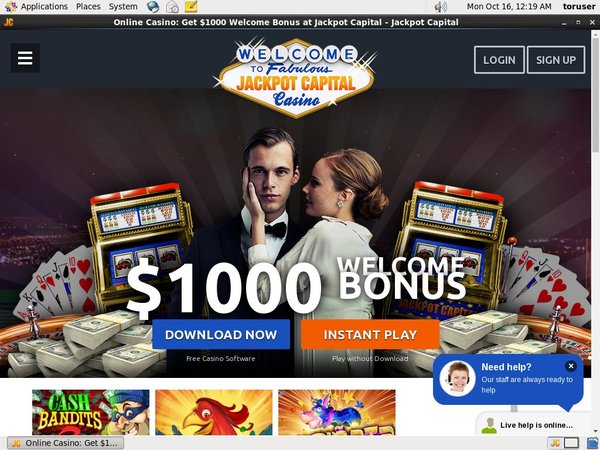 Jackpot Capital Vip Sign Up