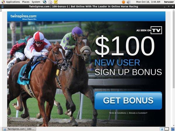 Twin Spires Free Bet Code