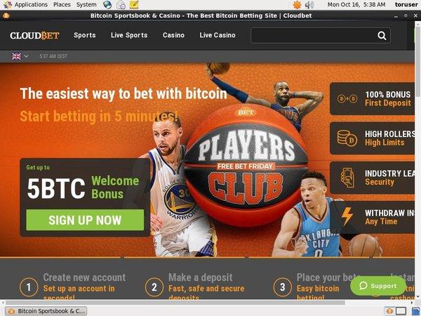 Cloud Bet Sign Up Bonus