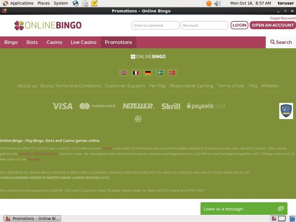 Online Bingo Top Gambling Websites