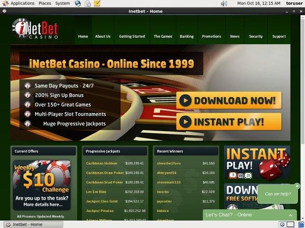 INetBet Casino Gratis