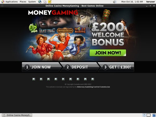 Money Gaming Euro Bonus