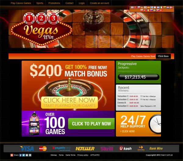 123 Vegas Win Betspin