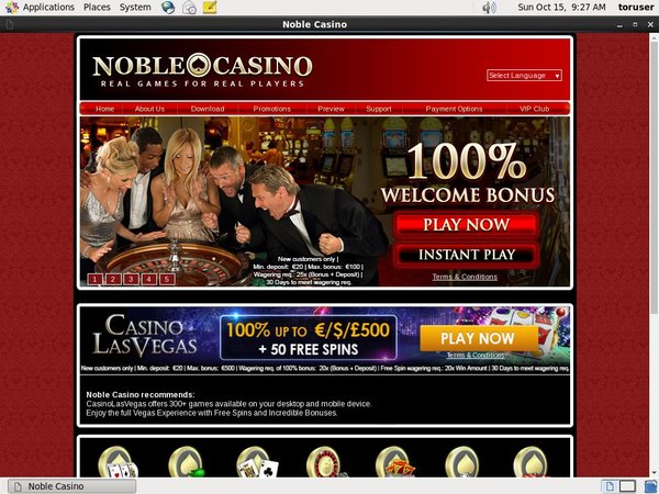 Noble Casino Real Money Paypal