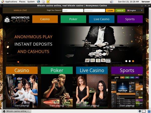 Anonymous Casino Uk Site