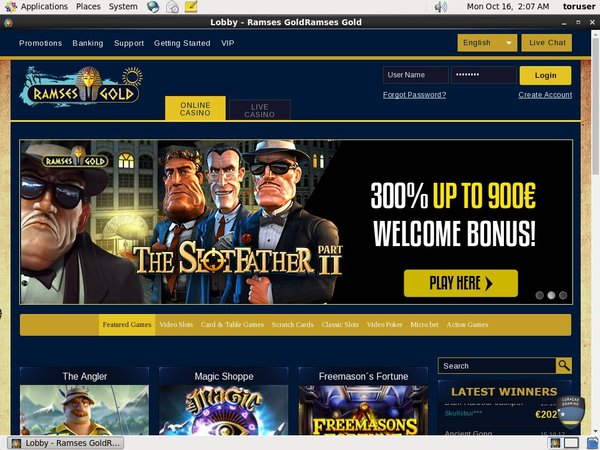 Ramses Gold Best Bingo Sites