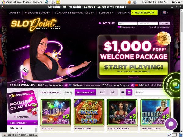 Slot Joint Casinos Online