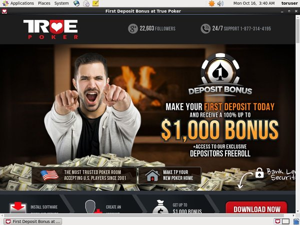 Truepoker Limited Deal