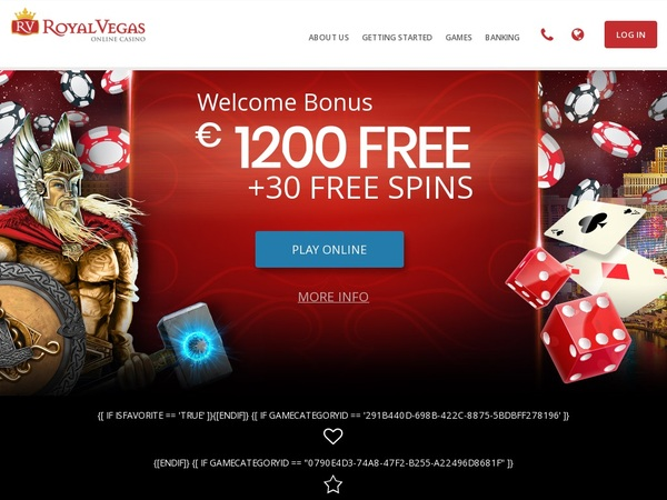 Royal Vegas Casino Banking