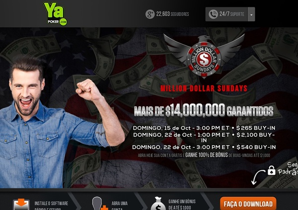Ya Poker Welcome Bonus Offer