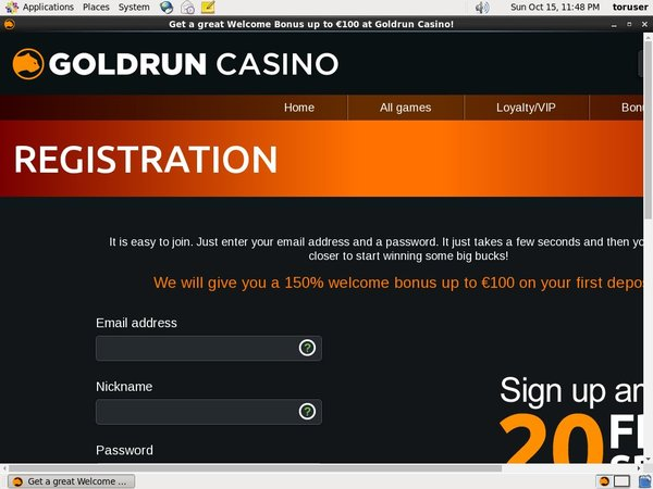 Gold Run Casino Aloha Free Spins